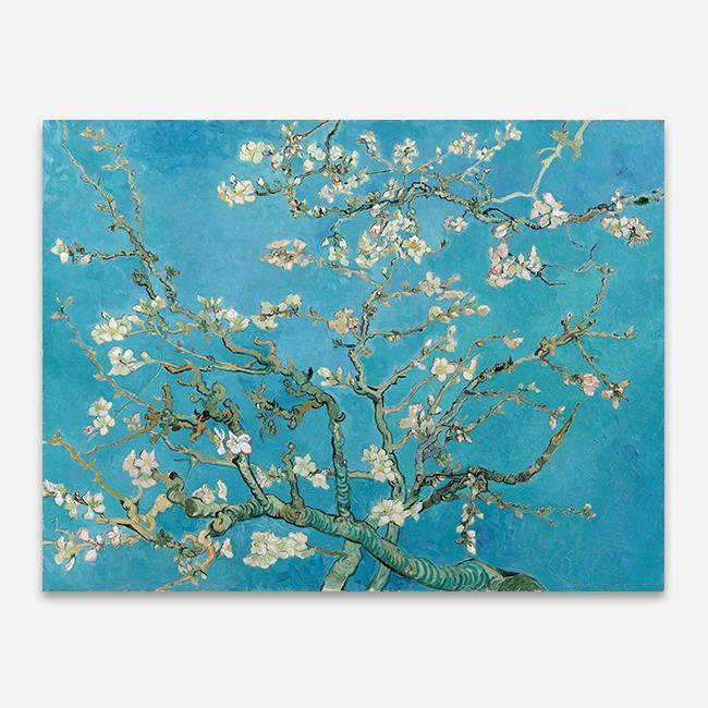 [뮤라섹] 갤러리랩 명화액자 반고흐 꽃피는 아몬드나무 이미지